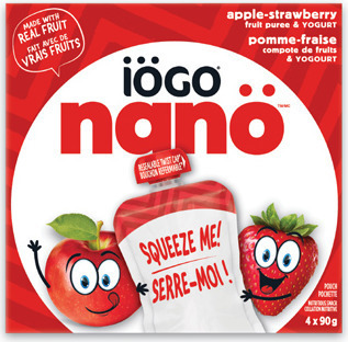 IÖGO NANO POUCHES OR DRINKABLE YOGURT