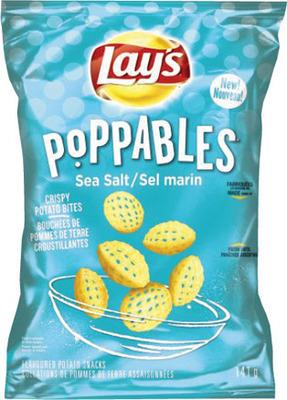 LAY'S POTATO CHIPS, POPPABLES OR SMARTFOOD POPCORN