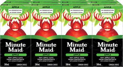 MINUTE MAID JUICES OR DRINKS, NESTEA ICED TEA