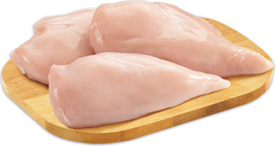MAPLE LEAF PRIME RAISED WITHOUT ANTIBIOTICS FRESH BONELESS SKINLESS CHICKEN BREAST CUTLETS, FILLETS OR VALUE PACK BREAST
