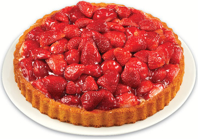 FRONT STREET BAKERY STRAWBERRY FLAN