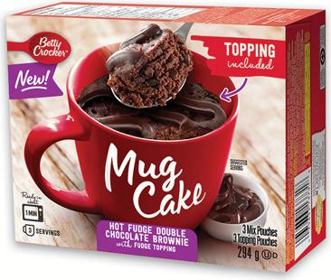 BETTY CROCKER MUG CAKE MIX