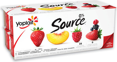 YOPLAIT SOURCE 12 - 16 X 90 - 100 g IÖGO YOGOURT 16 X 100 g