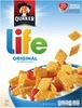 Quaker Life Cereal 13 oz., Instant Oatmeal 9.8 to 15.1 oz., or Bars or Squares 4.5 to 10.5 oz