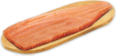 FRESH ATLANTIC SALMON FILLETS FAMILY PACK MIN. 900 g, 9.99/lb, 2.21/100 g or DOM NORWEGIAN FJORD SMOKED STEELHEAD SALMON FROZEN, 200 g, 9.99 EA.