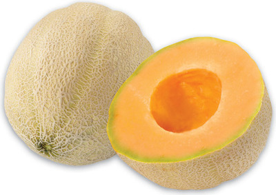 JUMBO CANTALOUPES PRODUCT OF GUATEMALA, No. 1 GRADE JUMBO GOLDEN PINEAPPLES PRODUCT OF COSTA RICA