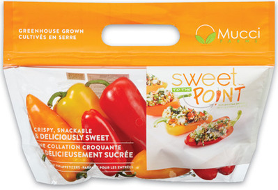 MINI SWEET PEPPERS 227 g, PRODUCT OF ONTARIO GRAPE TOMATOES 283 g, PRODUCT OF ONTARIO MELANGE TOMATOES 283 g, PRODUCT OF ONTARIO