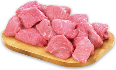 BONELESS STEWING VEAL CUBES