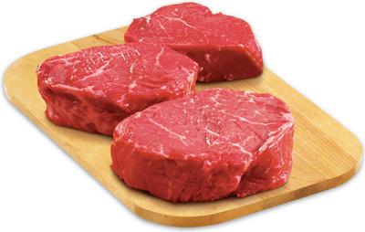 PLATINUM GRILL ANGUS TOP SIRLOIN MEDALLIONS, CAP OFF STEAK OR CLUB STEAK