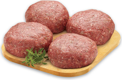 FRESH STORE MADE BEEF BURGER