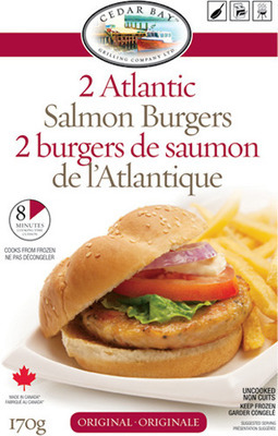 CEDAR BAY ATLANTIC SALMON BURGERS