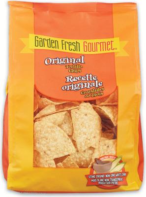 GARDEN FRESH TORTILLA CHIPS 368 - 397 g or SALSA OR GUACAMOLE 227 g - 473 g