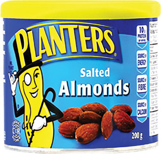 PLANTERS ALMONDS OR MIXED NUT