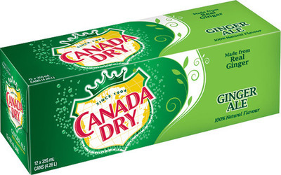 CANADA DRY OR COCA-COLA BEVERAGES