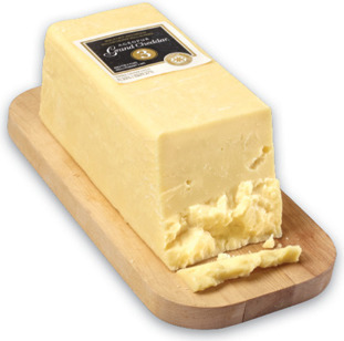 JARLSBERG CHEESE REGULAR OR LIGHT OR AGROPUR SIGNATURE GRAND CHEDDAR 3 YEAR DELI CUT, 2.64/100 g