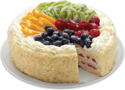 FRONT STREET BAKERY CARROT CAKE OR GOURMET STRAWBERRY OR FRUIT TOPPED SHORTCAKE