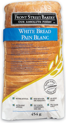 FRONT STREET BAKERY WHITE BREAD