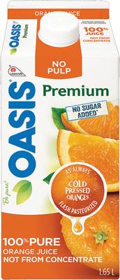 OASIS ORANGE JUICE OR DRINKS