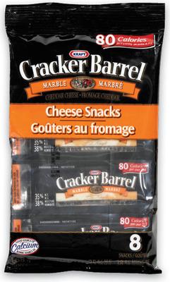 CRACKER BARREL CHEESE SNACKS, SLICES, FETA OR AMOOZA TWISTS