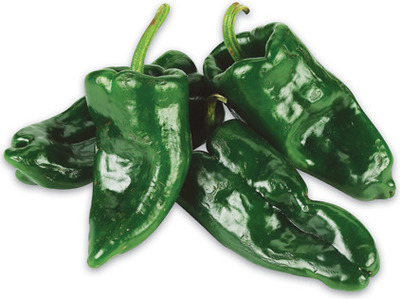 HOT POBLANO PEPPERS
