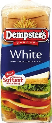 DEMPSTER'S WHITE OR 100% WHOLE WHEAT BREAD 675 g or D'ITALIANO BUNS PKG OF 6 - 8 OR DEMPSTER'S SMOOTH MULTIGRAINS OR SMART BREAD, 650 - 675 g