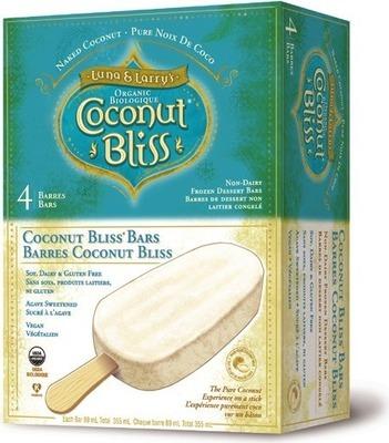COCONUT BLISS ICE CREAM OR NOVELTIES