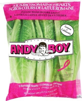 ANDY BOY® ROMAINE HEARTS
