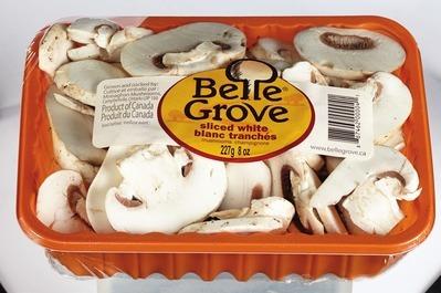 BELLE GROVE SLICED WHITE OR CRIMINI MUSHROOMS