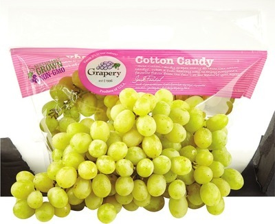 ORGANIC COTTON CANDY GRAPES or ORGANIC RED OR GREEN SEEDLESS GRAPES