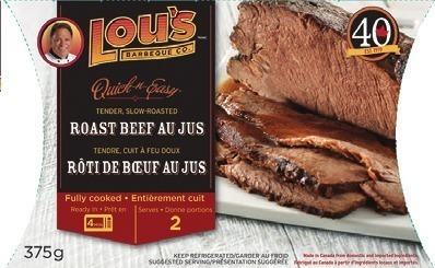 LOU'S QUICK-N-EASY ENTRÉES