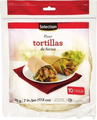 """SELECTION 7"""" TORTILLAS"""