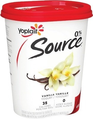 SOURCE YOGURT 650 g or YOPLAIT TUBES 8 x 60 g