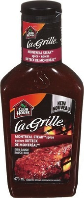 CLUB HOUSE LA GRILLE BBQ SAUCE OR MARINADE