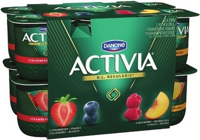 DANONE ACTIVIA 12 x 100 g or OÏKOS GREEK YOGURT 750 g
