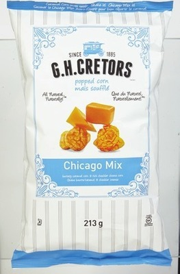 G.H.CRETORS POPCORN, NEAL BROTHERS TORTILLA CHIPS