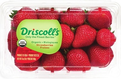 ORGANIC RASPBERRIES 170 g PRODUCT OF U.S.A., No. 1 GRADE ORGANIC STRAWBERRIES 454 g PRODUCT OF U.S.A., No. 1 GRADE BLACKBERRIES 170 g PRODUCT OF MEXICO