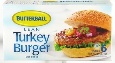 BUTTERBALL TURKEY LEAN BURGER