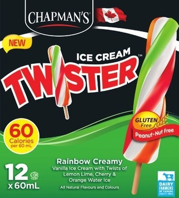 CHAPMAN'S ICE CREAM OR NOVELTIES