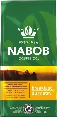 NABOB TASSIMO T DISC OR K-CUP COFFEE CAPSULES 12 - 14 un. OR GROUND COFFEE 300 g