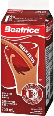 BEATRICE CHOCOLATE MILK 750 ML SNACK PACK PUDDING CUPS OR NESTLÉ CHOCOLATE BARS