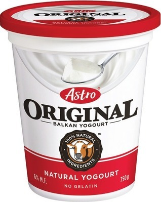 ASTRO OR IÖGO YOGOURT TUBS 650 - 750 G NATURE VALLEY BARS OR BETTY CROCKER FRUIT SNACKS
