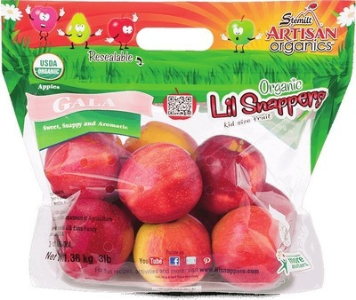 LIL SNAPPERS ORGANIC GALA APPLES