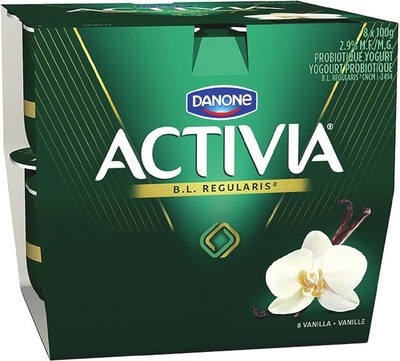 DANONE ACTIVIA 6 ‑ 8 x 100 g 3 x 150 g or OÏKOS GREEK YOGURT 4 x 95 ‑ 100 g 2 x 130 g