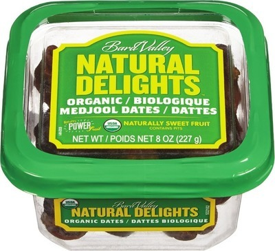 NATURAL DELIGHTS ORGANIC DATES