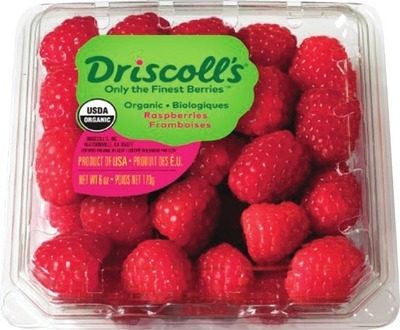 ORGANIC RASPBERRIES 170 g PRODUCT OF U.S.A., No. 1 GRADE BLACKBERRIES 170 g PRODUCT OF MEXICO