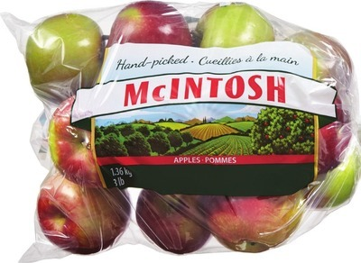Mcintosh Paula Red or Ginger Gold Apples