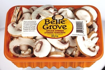 BELLE GROVE WHOLE OR SLICED CRIMINI MUSHROOMS