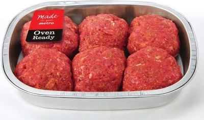 STORE MADE HOMESTYLE MEATBALLS OR MEATLOAF