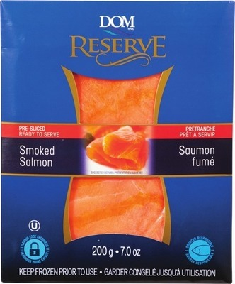 DOM INT'L SMOKED SALMON OR GRAVLAX