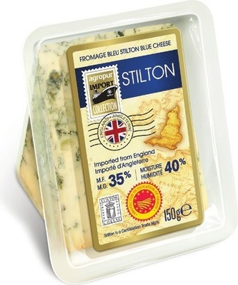 AGROPUR IMPORT COLLECTION STILTON BLUE, RUSTIC CAMEMBERT REGULAR OR LIGHT OR MANCHEGO CHEESE 150 - 250 g
